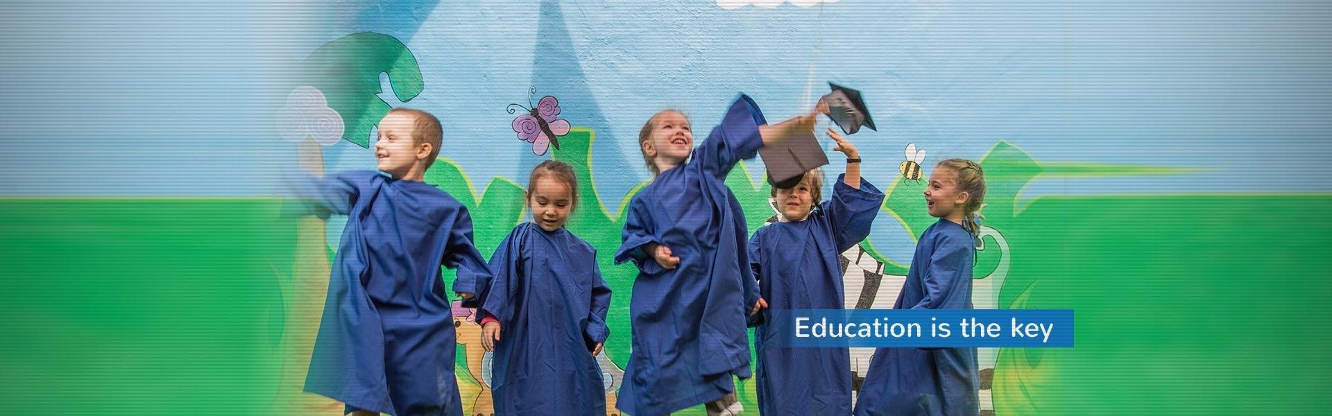 Childcare Preschool Alexandria Graduation