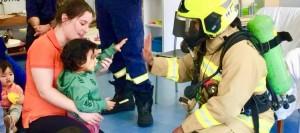 Community visit - Fire Brigade Visits Oz Education