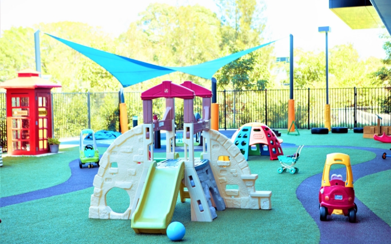 Alexandria childcare preschool outdoor
