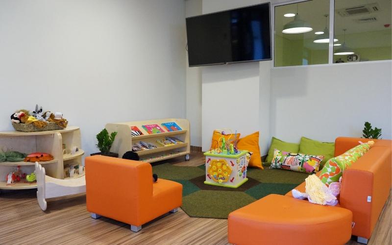 Alexandria childcare preschool room