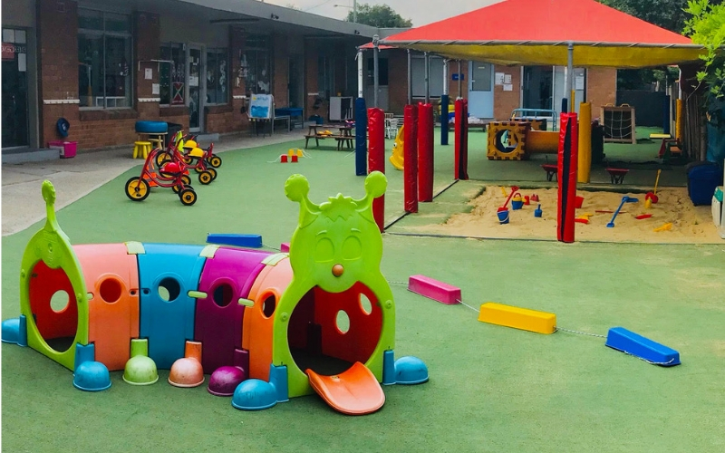 Campsie Childcare and Preschool Playground