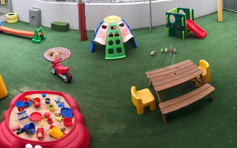 Campsie childcare and preschool outdoor area