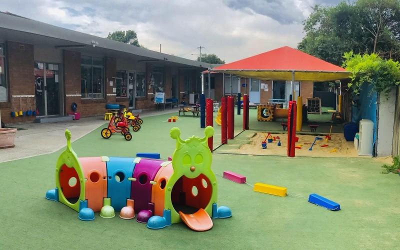 Campsie Childcare and Preschool playground