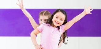 Dance program at childcare