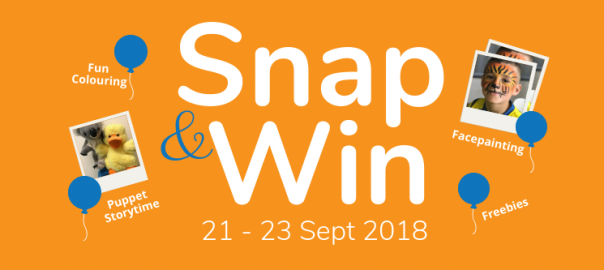 Baby and Toddler Show - Snap & Win Contest