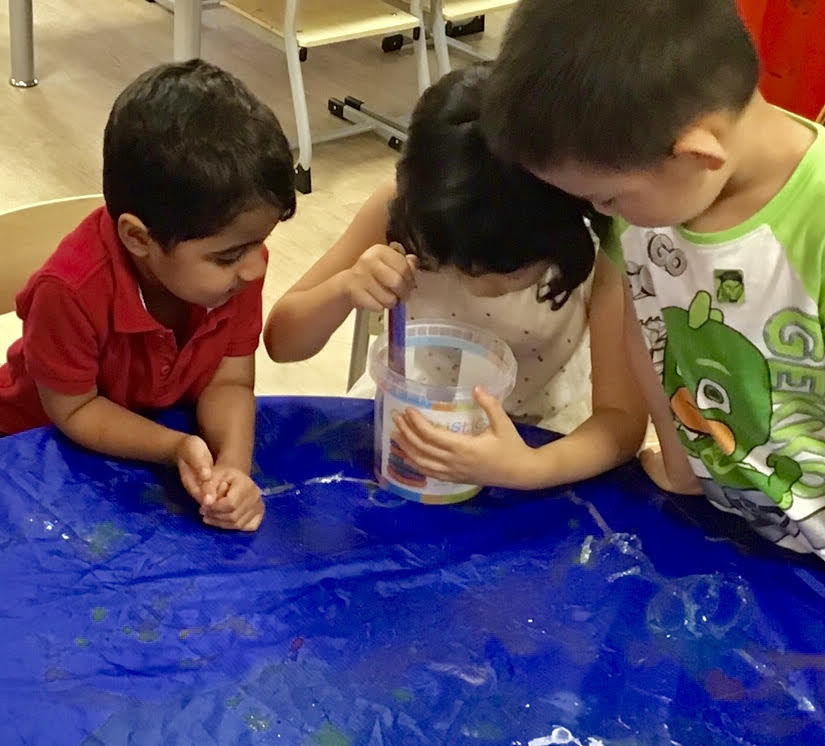 Sydney Childcare & Preschool - New Year Fireworks Science Experiment