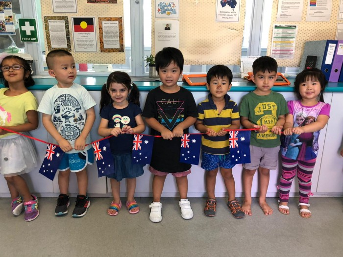 Australia Day Celebrations At Oz Education Early Learning Centre