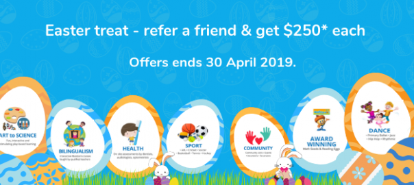 Oz Education Refer a Friend and get $250 - Learn more