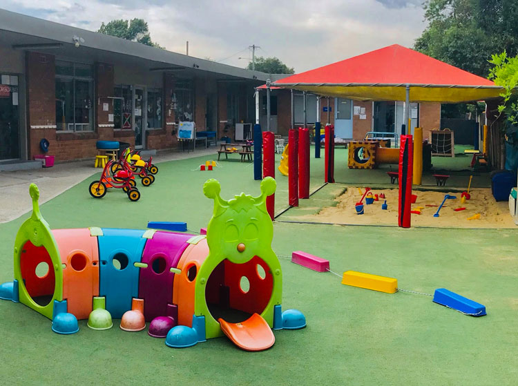 Campsie childcare, early learning and preschool - outdoor